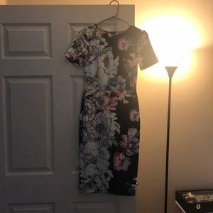ASOS midi bodycon dress size 4